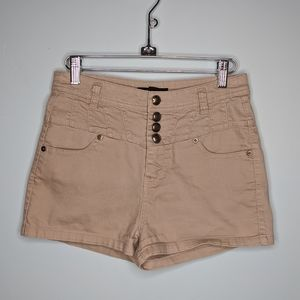 Forever 21 high waisted neutral shorts